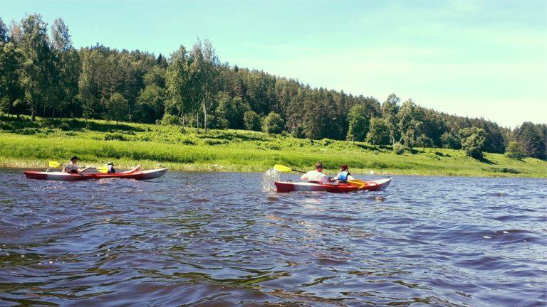 laivu noma, Laivošana Daugavas lokos, aktivitāte Lielbornes muiža