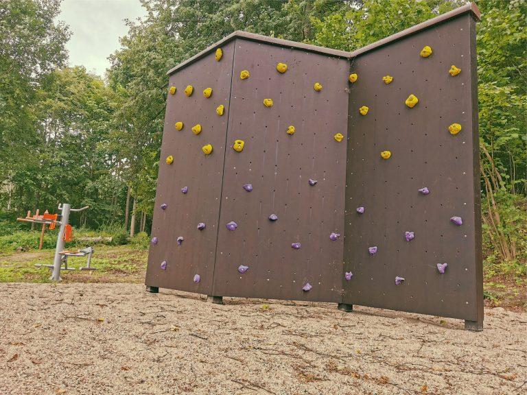 Kāpšanas siena Lielbornes muižā, aktivitātes muižā , sports