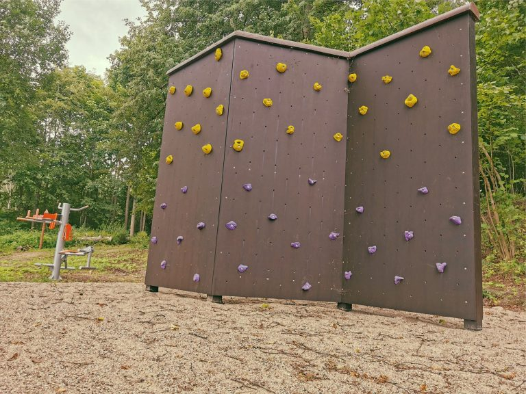 Climbing Wall at Lielborne Manor, sport