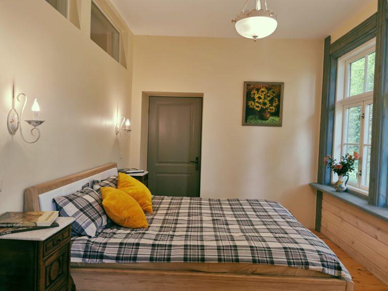 accomodation in Latgale, apartments Lielborne Manor, studio-type apartment