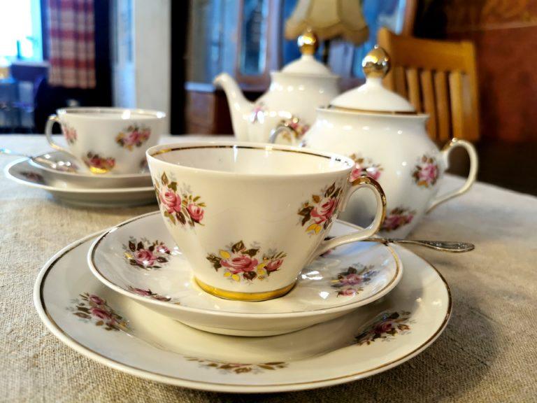Riga porcelain, faience factory, restaurant, coffee, Lielborne manor